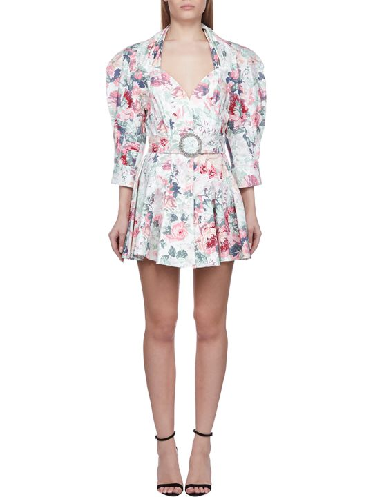 ATTICO Floral Print Dress
