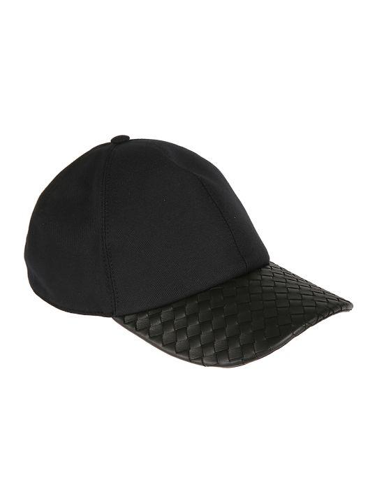 Bottega Veneta Woven Peak Cap