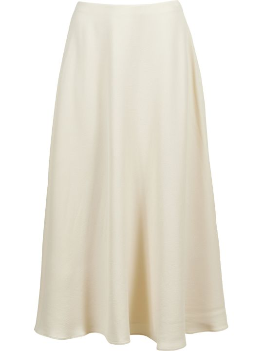 Theory Cady Long Wide Skirt