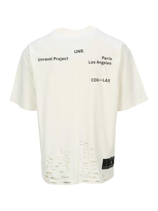 Ben Taverniti Unravel Project Unravel Project Lax Logo T-shirt