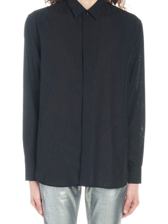 Saint Laurent 'shadow Sauvage' Shirt