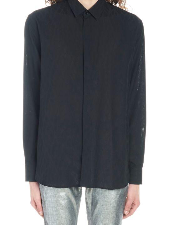 Saint Laurent 'shadow Sauvage' Shirt
