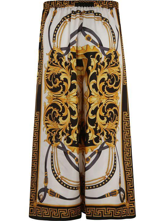 Versace Medusa Logo Printed Skirt