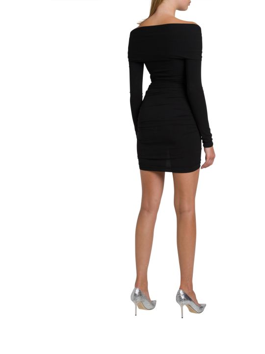 Alexandre Vauthier Stretch Jersey Wraped Dress