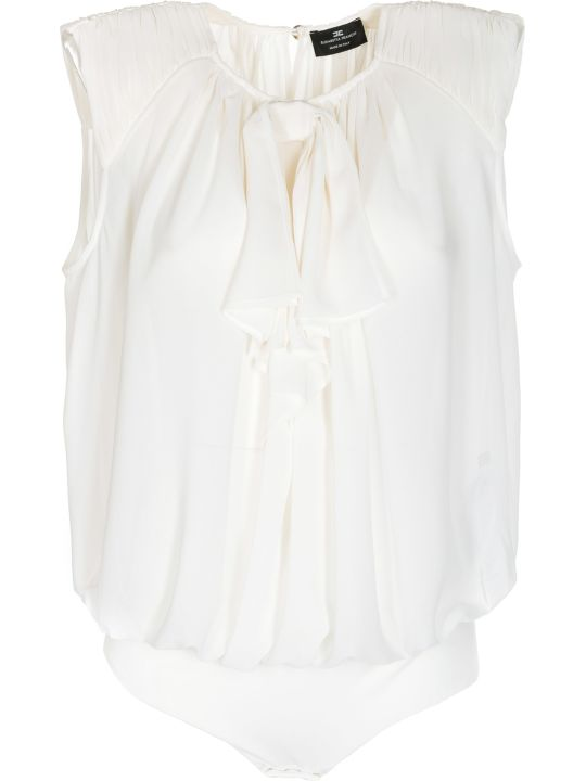Elisabetta Franchi Celyn B. Elisabetta Franchi For Celyn B. Frill-trim Sleeveless Top