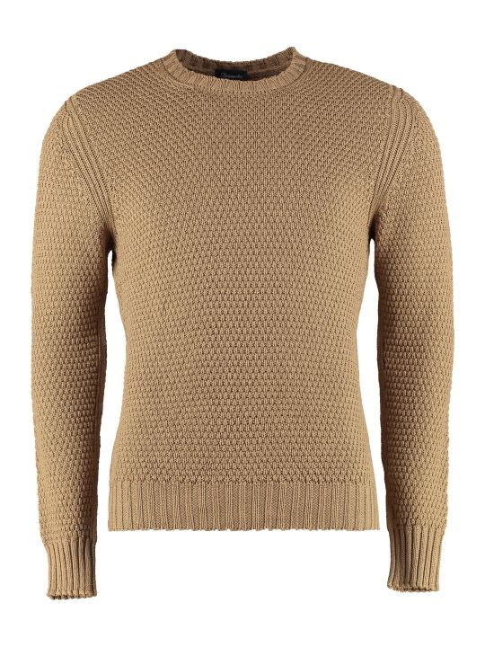 Drumohr Cotton Crew-neck Sweater