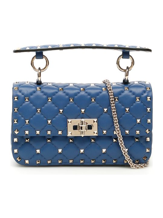 Valentino Garavani Small Leather Rockstud Spike Bag