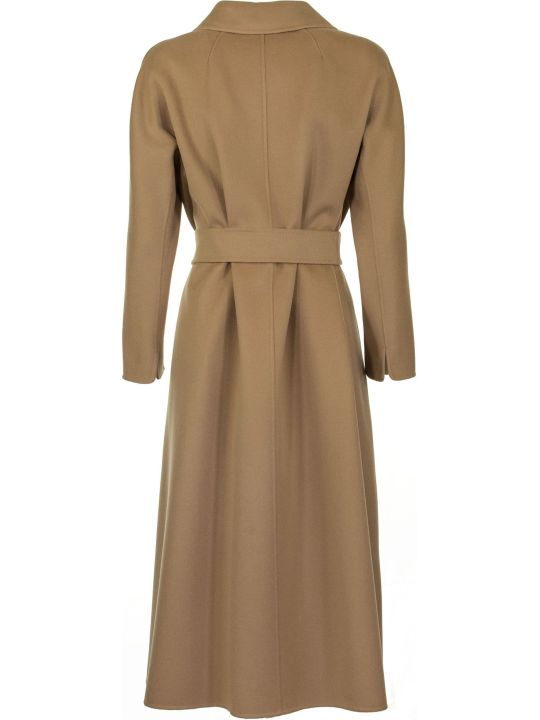 Max Mara The Cube Esturia Wool Coat Beige