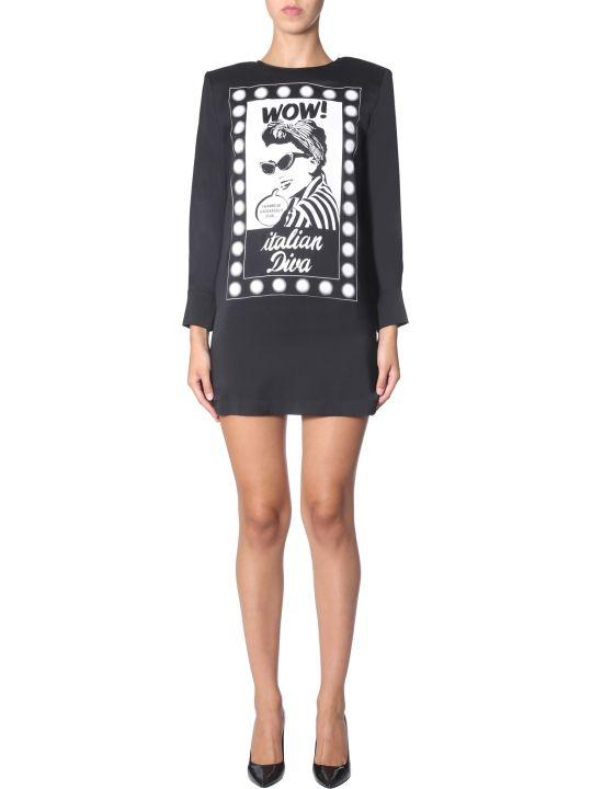 Boutique Moschino Crew Neck Dress