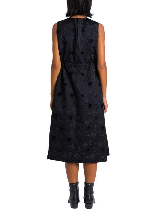 Noir Kei Ninomiya Jacquard Dress With Tulle Underskirt