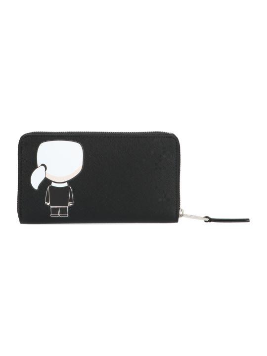 Karl Lagerfeld 'k/ikonik' Wallet