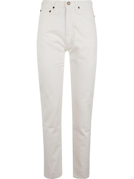 Saint Laurent Long Fitted Jeans