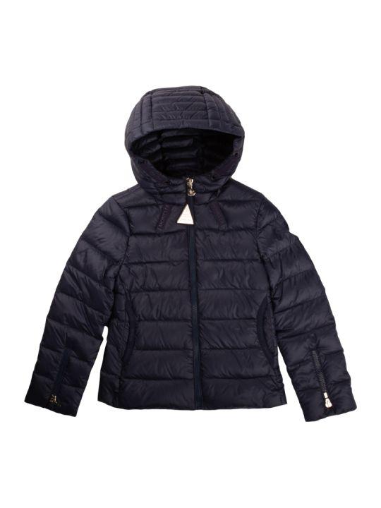 Moncler Kolia Down Jacket With Blue Hood