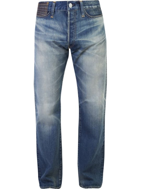 Junya Watanabe Patched Denim Jeans