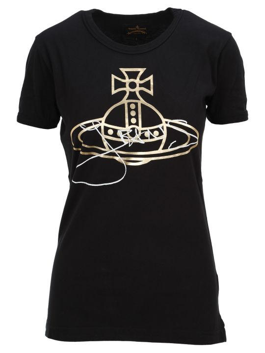 Vivienne Westwood Anglomania Anglomania Logo And Signature Print T-shirt