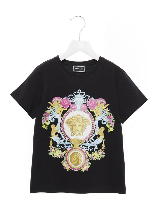 Young Versace 'medusa Angioletto' T-shirt