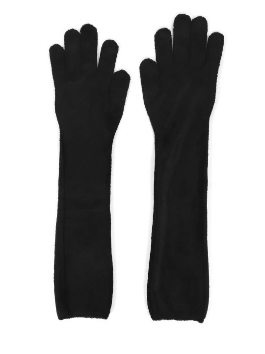 Alaia Black Gloves