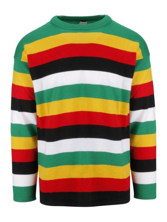 Loewe Striped Fine Knit Sweater
