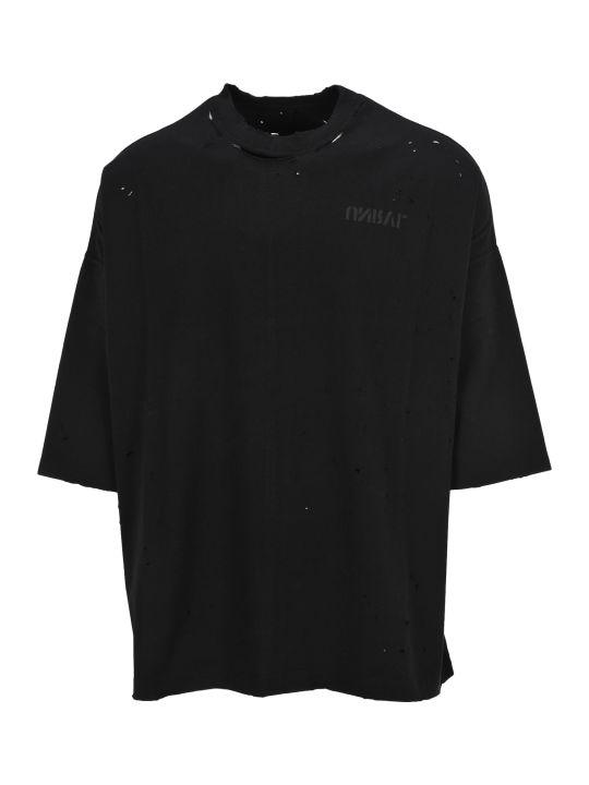Ben Taverniti Unravel Project Unravel Tshirt Skull Back Oversized