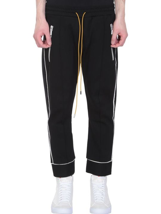 Rhude Smoking Black Nylon Pants