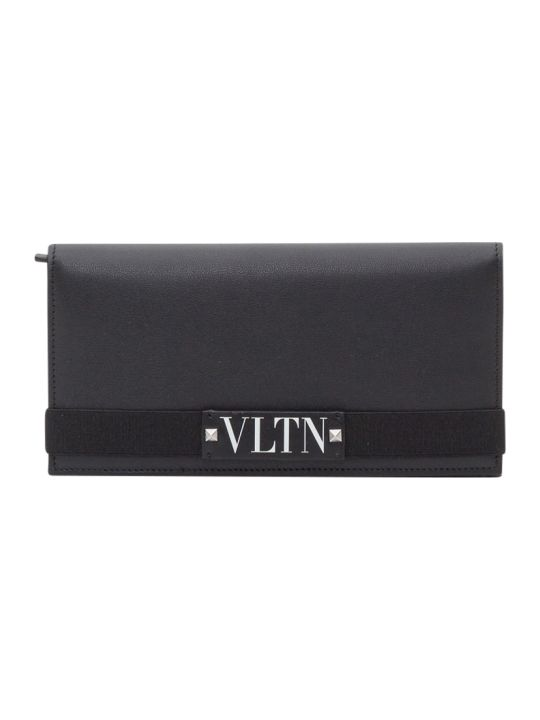 Valentino Garavani Vltn Flat Wallet
