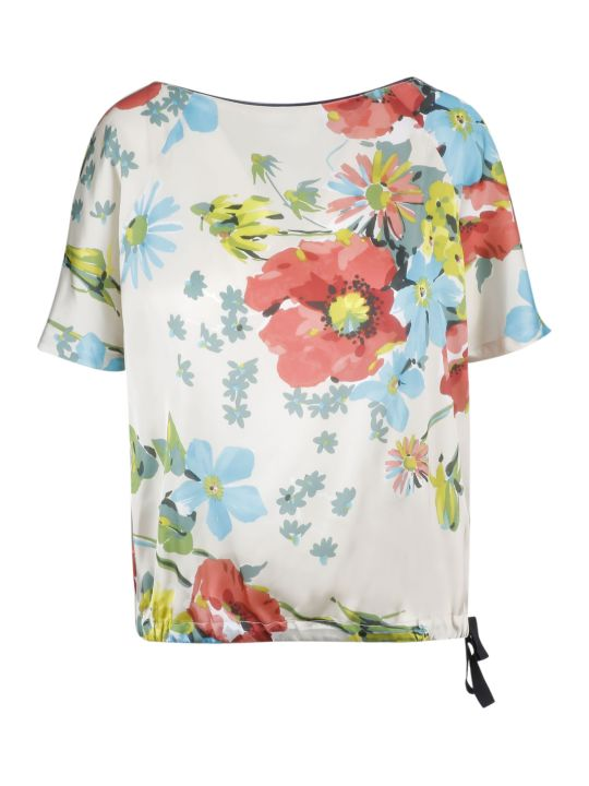 SEMICOUTURE Floral Print Blouse