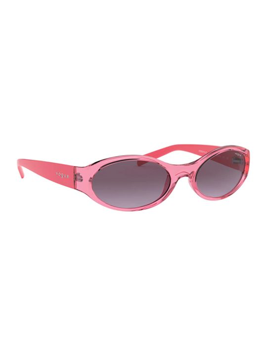 Vogue Eyewear Vogue Vo5315s Transparent Pink Sunglasses