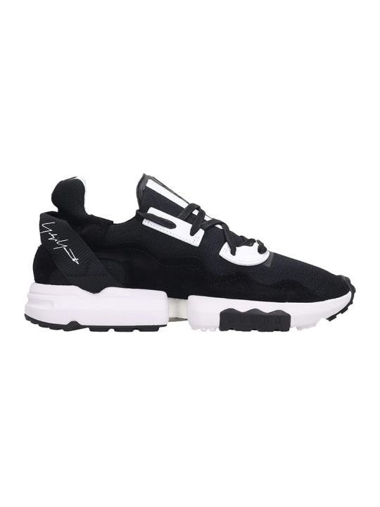 Y-3 Zx Torsion Sneakers In Black Tech/synthetic