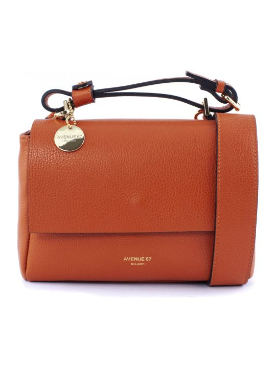 Avenue 67 Orange Elettra Xs Shoulder Bag