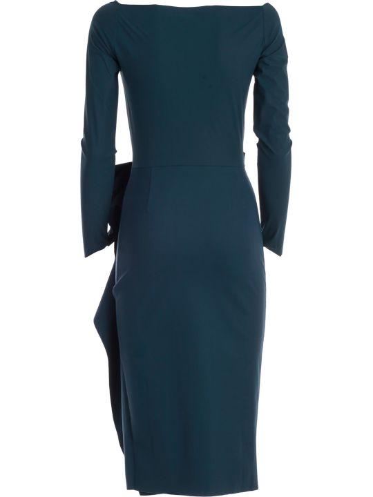 La Petit Robe Di Chiara Boni Dress L/s V Neck W/side Drape