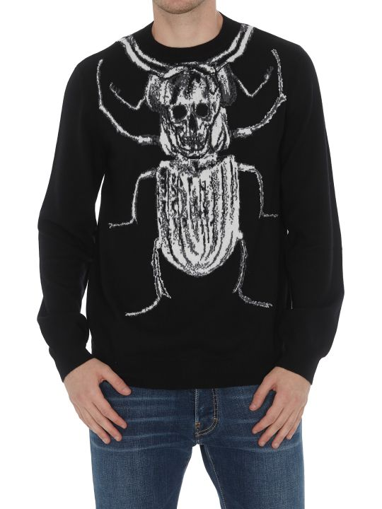 Alexander McQueen Giant Beatle Pullover