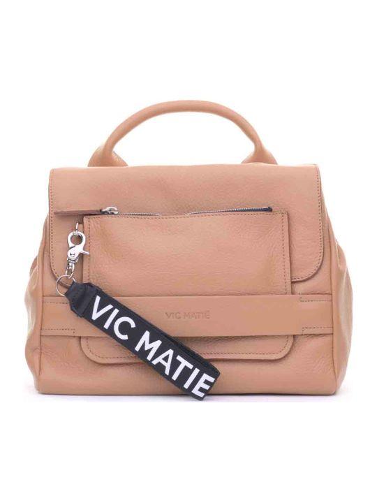 Vic Matié Vic Matié Uma Tan Satchel Bag