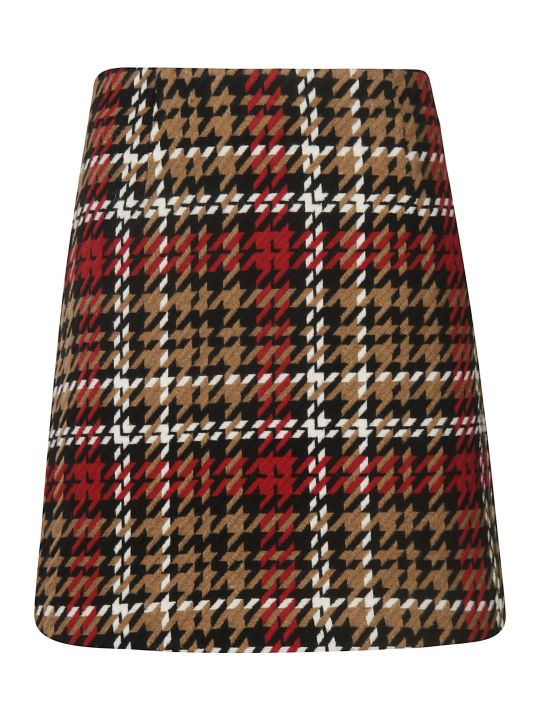 Be Blumarine Patterned Skirt