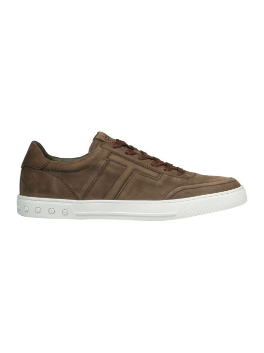 Tod's Embossed T Sneakers