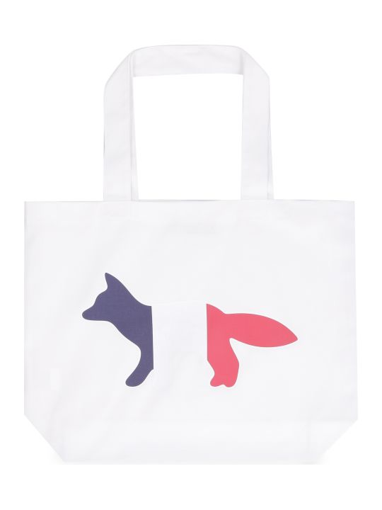 Maison Kitsuné Canvas Tote Bag