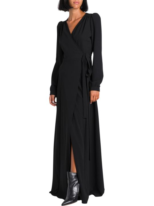 Parosh Long Wrap Dress