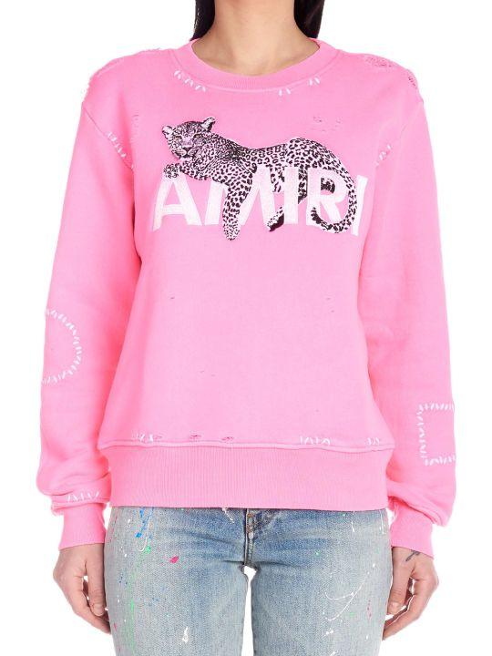 AMIRI 'leopard' Sweatshirt