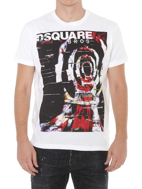 Dsquared2 Psychedelic Bros Tshirt