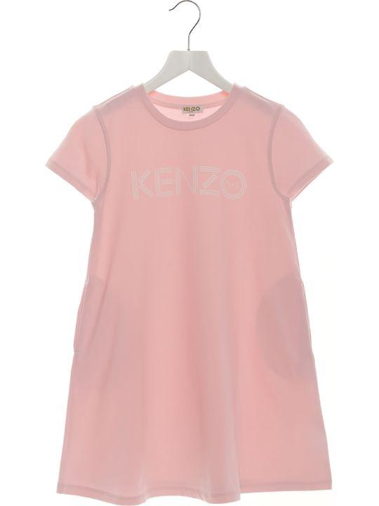 Kenzo Kids 'logo Sport Line' Dress