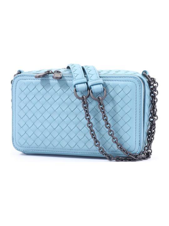 Bottega Veneta Camera Bag Light Blue