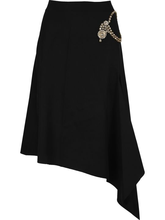 J.W. Anderson Jw Anderson Diamanté Embellished Skirt