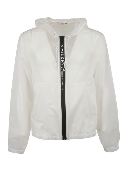Givenchy Logo Zipped Windbreaker