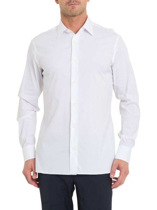 Z Zegna Fly Front Shirt