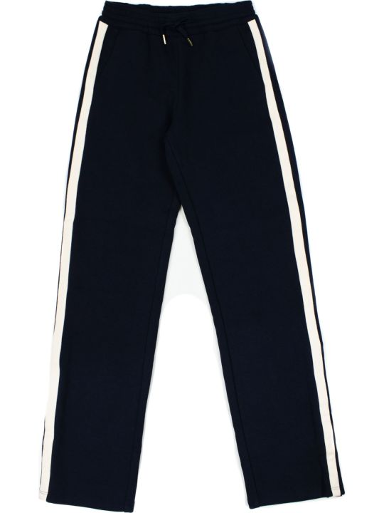 Chloé Navy Blue Cotton-blend Track Pants