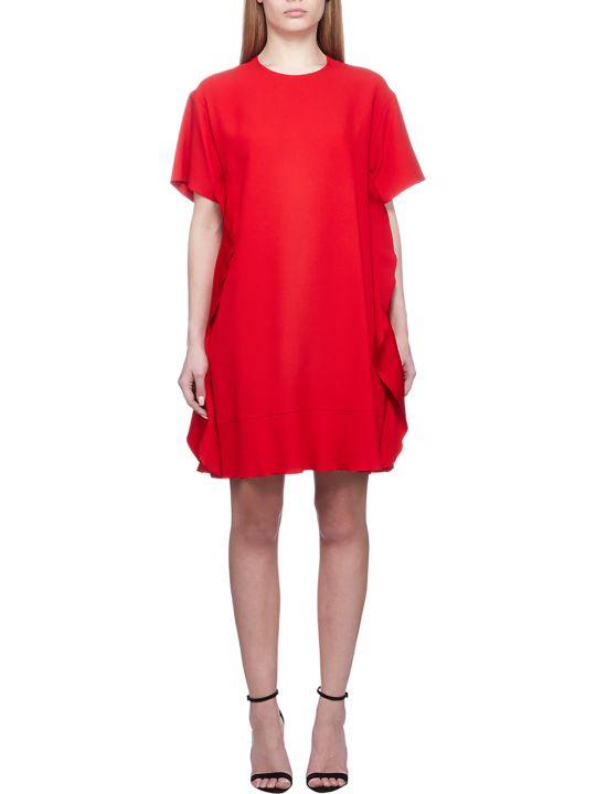 RED Valentino Ruffled Shift Dress