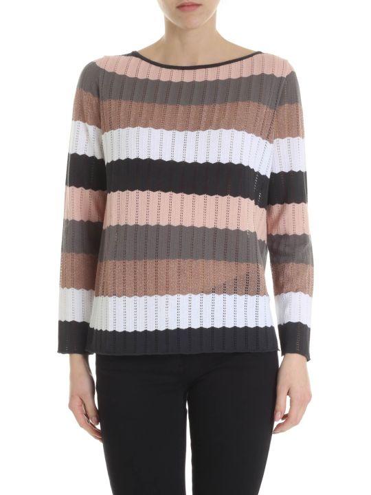 Kangra Multicolor Striped Sweater