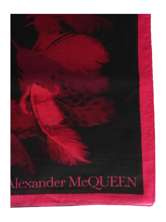 Alexander McQueen Mixed Silk Scarf