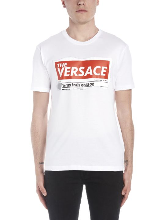 Versace 'versace Tabloid' T-shirt