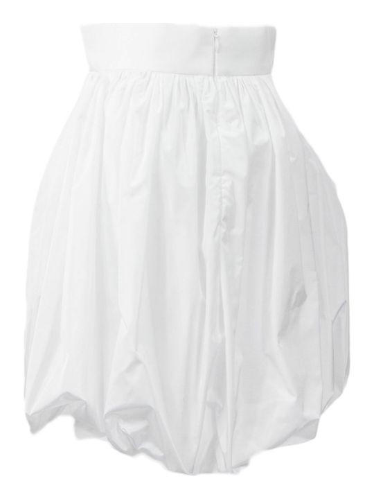 Philosophy di Lorenzo Serafini White A-line Skirt