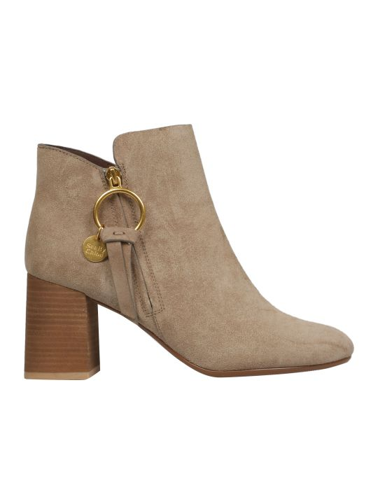 See by Chloé Ring Ankle Boots